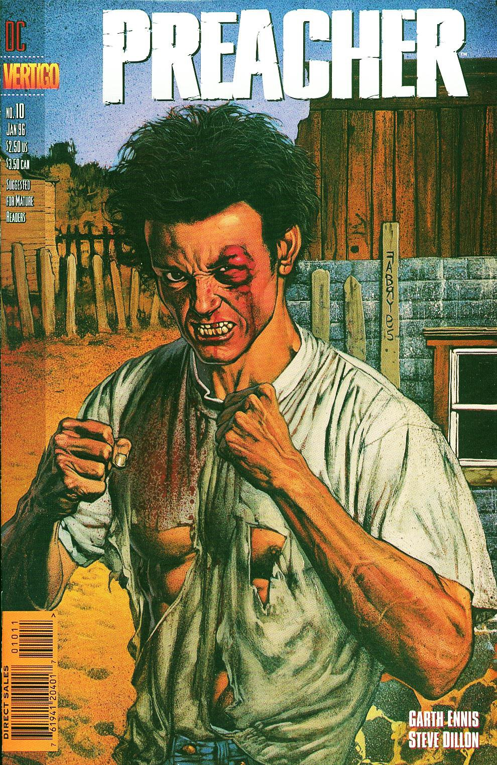 Комиксы Онлайн - Проповедник - # 10 - Страница №1 - Preacher - Preacher # 10