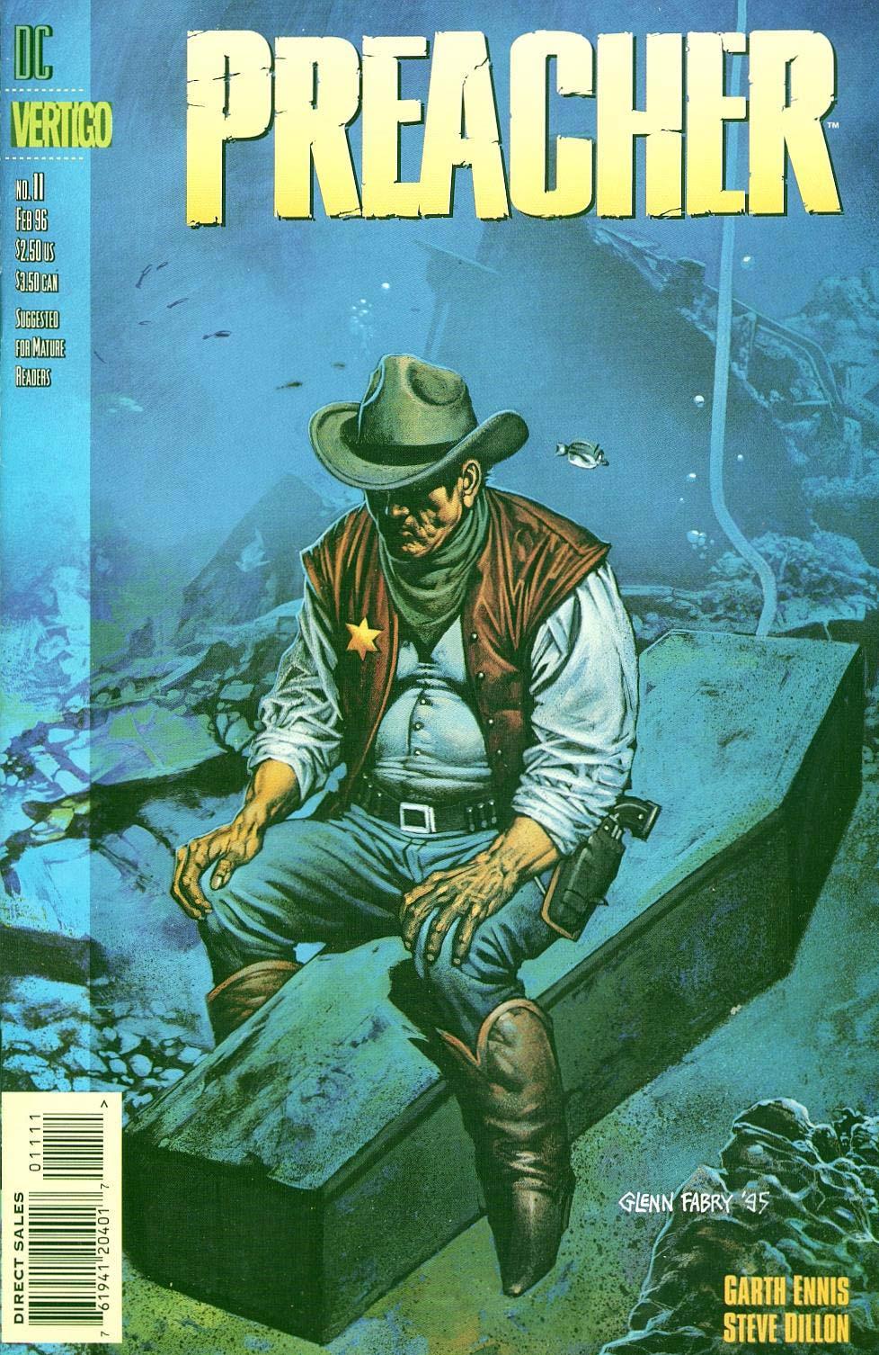 Комиксы Онлайн - Проповедник - # 11 - Страница №1 - Preacher - Preacher # 11