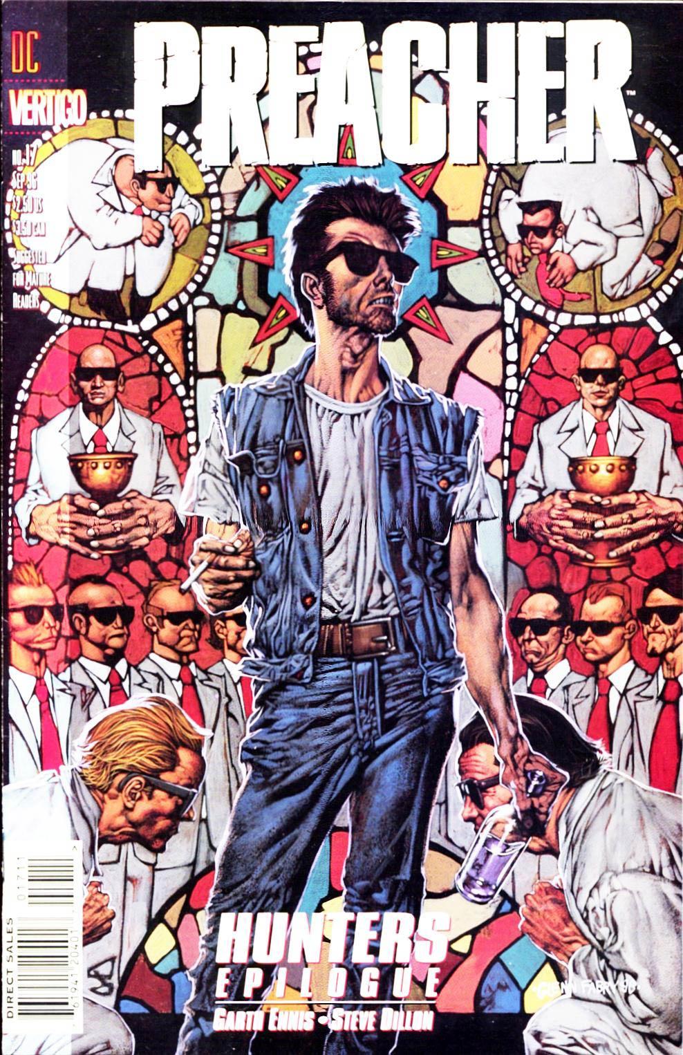 Комиксы Онлайн - Проповедник - # 17 - Страница №1 - Preacher - Preacher # 17