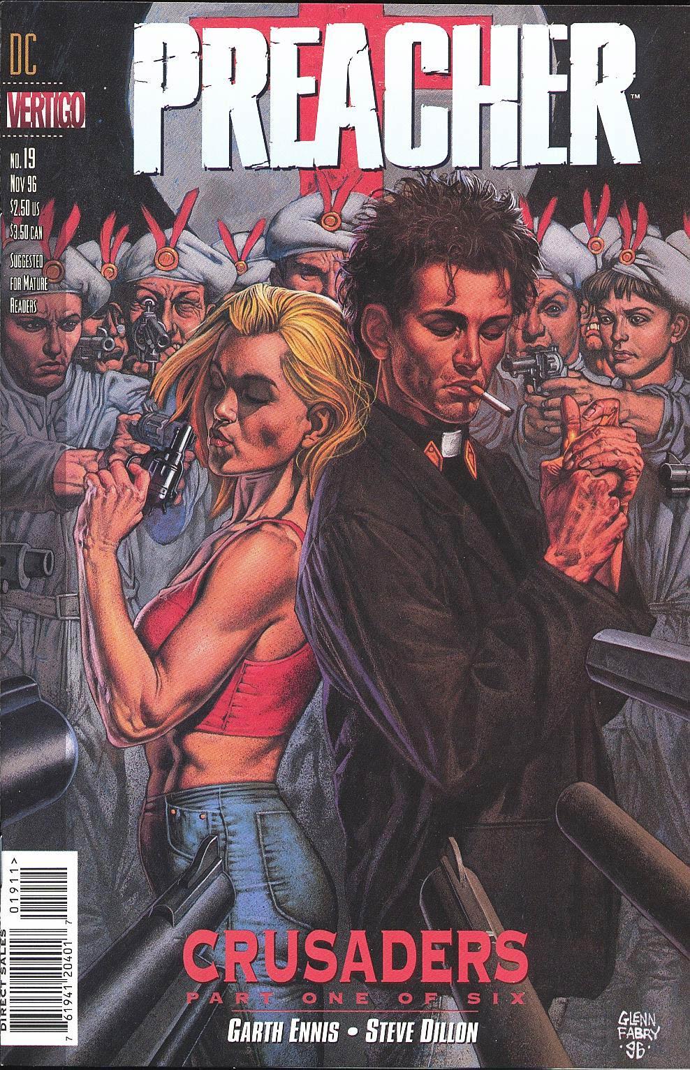 Комиксы Онлайн - Проповедник - # 19 - Страница №1 - Preacher - Preacher # 19