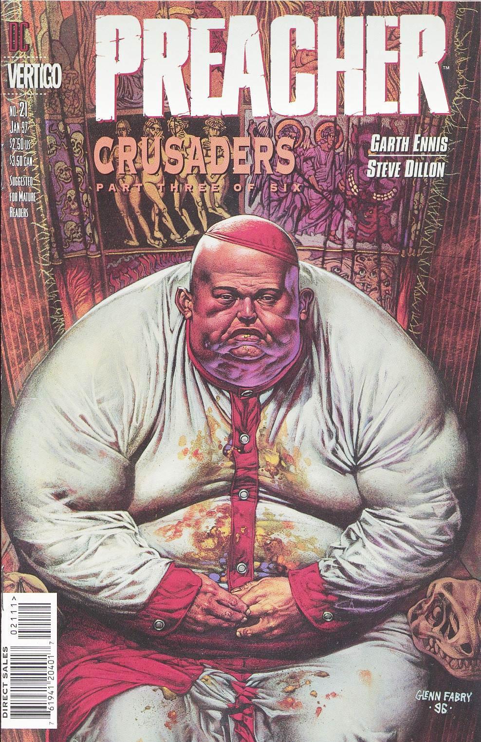 Комиксы Онлайн - Проповедник - # 21 - Страница №1 - Preacher - Preacher # 21