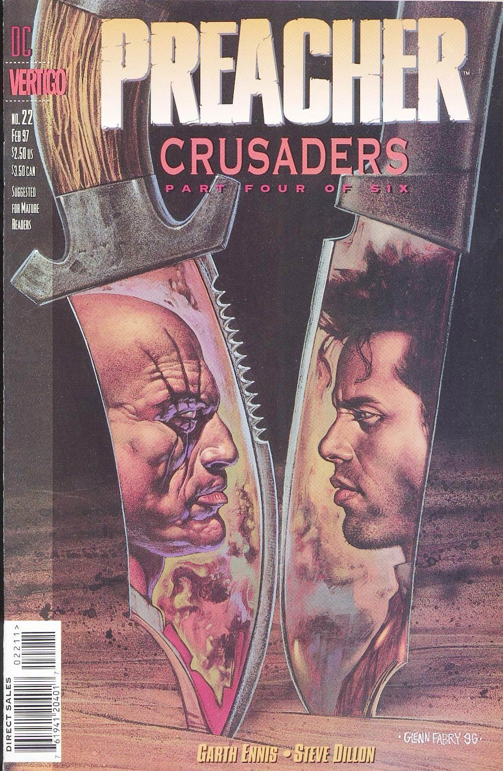 Комиксы Онлайн - Проповедник - # 22 - Страница №1 - Preacher - Preacher # 22