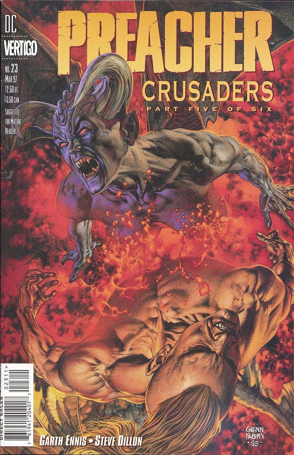 Комиксы Онлайн - Проповедник - # 23 - Страница №1 - Preacher - Preacher # 23
