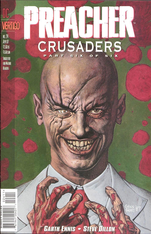 Комиксы Онлайн - Проповедник - # 24 - Страница №1 - Preacher - Preacher # 24