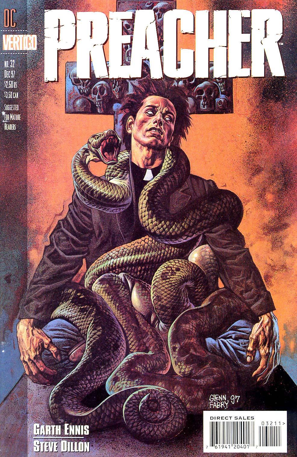 Комиксы Онлайн - Проповедник - # 32 - Страница №1 - Preacher - Preacher # 32
